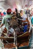 Long tail boat Stock Photo