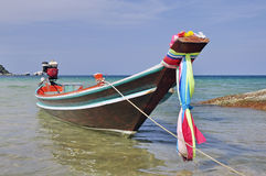 Long tail boat in Thailand Royalty Free Stock Images