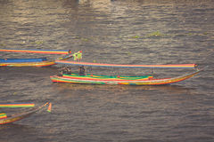 Long Tail Boat, Thailand, Stock Photography