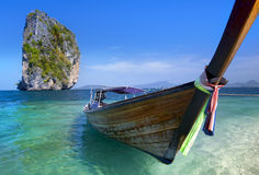 Long tail boat in Thailand Stock Photography