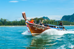 Long-tail Boat Royalty Free Stock Photography