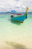 Long Tail Boat Tropical Beach Royalty Free Stock Photo