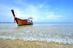 Long tail boat Stock Photography
