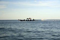 Long tail boats Stock Photos