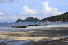 Long tail boats Royalty Free Stock Photo