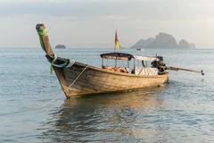 Long tail boats. Andaman Sea, Thailand,Tropical beach, long tail boats, Thailand,Long tail boats on beach,Andaman Sea Stock Image