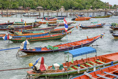 Long tail boats Royalty Free Stock Photography