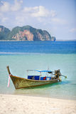 Long tailed boat Royalty Free Stock Photography