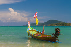 Long tailed boat Ruea Hang Yao in Thailand Stock Images