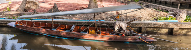 Long tailed boat Royalty Free Stock Image