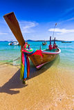 Long tailed boat in Thailand,PHUKET Royalty Free Stock Photography