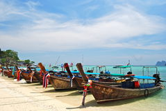 Long tailed boat, Thailand Royalty Free Stock Images