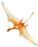 Long tailed pterosaur Royalty Free Stock Photos