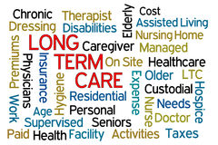 Long Term Care royalty free stock photo