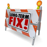 Long Term Fix Road Construction Repair Permanent Good Lasting Jo Stock Photos