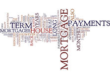 Are Long Term Mortgages For You Word Cloud Concept
