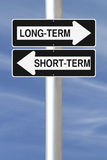 Long-Term or Short-Term Stock Images