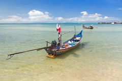 Long thai boat Stock Images
