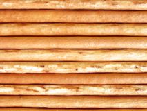 Long thin biscuit sticks. Background made of long thin biscuit sticks Stock Photography