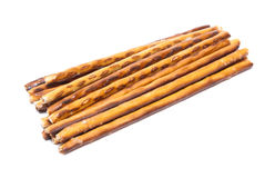 Long thin biscuit sticks Royalty Free Stock Photography