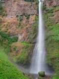 Long thin waterfall Royalty Free Stock Photography