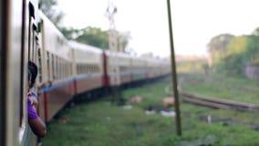 Long train. stock video