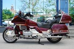 Long travel motorbike Royalty Free Stock Images