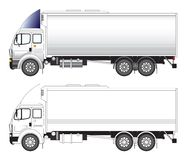 Long truck vector illustration Royalty Free Stock Photography