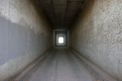 Long Tunnel. Long Spooky Tunnel stock photos