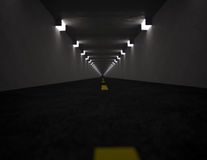 Long tunnel Stock Images