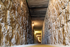 Tunnel in Gordion Stock Photos