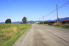 Long Unpaved Rural Road Royalty Free Stock Image
