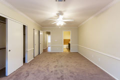 Long Vacant Room Royalty Free Stock Images