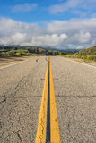 Long View of California Road Stock Images