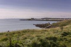 Long view of Elie coastline Stock Photo