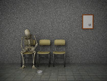 Long wait royalty free stock photos