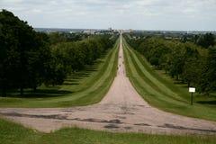 Long walk Royalty Free Stock Image