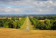 The Long Walk and Windsor Castle Stock Photos