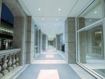 Long walkway Royalty Free Stock Photos