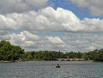 The Long Water in London Royalty Free Stock Images
