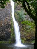 Long waterfall Royalty Free Stock Photography