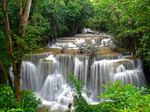 Long waterfall. Long of waterfall in thailand Royalty Free Stock Image