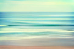 Long Wave Seascape Stock Image