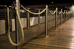 Long way from the rope royalty free stock image