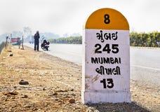 Long way to Mumbai royalty free stock photos