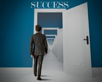 Long way to the success Royalty Free Stock Photos
