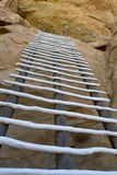 Long Way to the Top, Wooden Ladder Stock Photos
