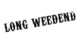 Long Weedend rubber stamp Royalty Free Stock Photos