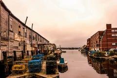 Free Long Wharf In Portland, Maine. Stock Photos - 121530043