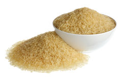 Long white rice Royalty Free Stock Photo